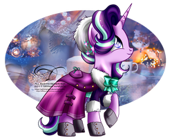 Winter Pony - Starlight Glimmer by selinmarsou