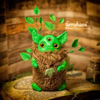 Green plant by Furrykami-creatures