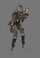 Titanfall 2 - Scout by E1XBlaster