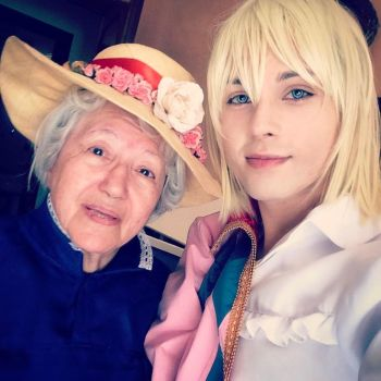 Howl and Sophie, Love! by hakucosplay