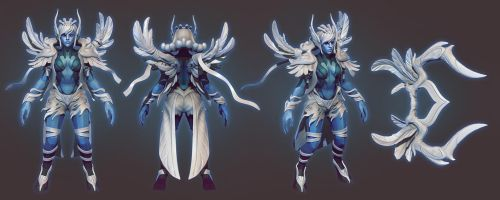 Vengeful Spirit set sculpt by ChemicalAlia