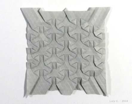 Tiled Hexagons by Lucy--C