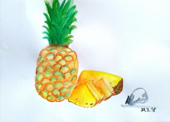 Pineapple by DaniCopic