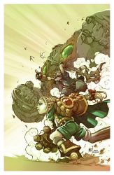 Battle Chasers by BenBASSO
