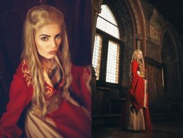 Cersei of house Lannister by FaerieBlossom