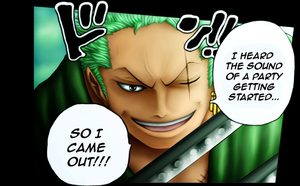 Zoro - Let's Party by DeBaron8