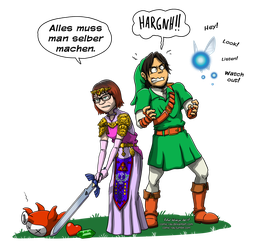 The Legend of Maike by Comic-Ray
