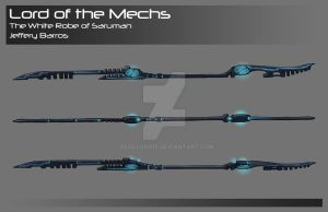 Lord of the Mechs - Staff by redcloud16