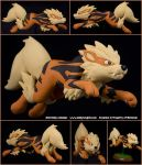 #059 Arcanine by emilySculpts