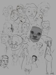Facessketching  by octomanz