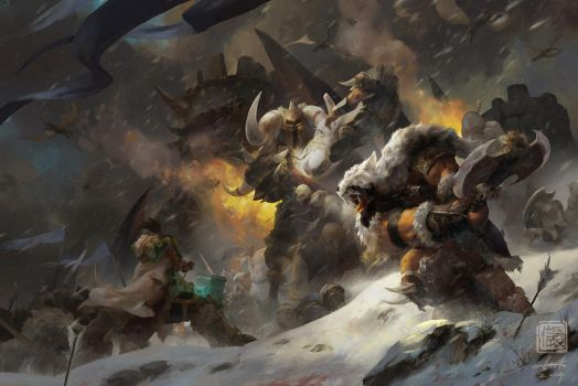 Rise of The Frostwolf Clan by 6kart