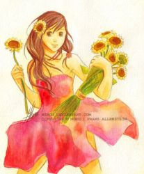 Good mood sunflower by mibou