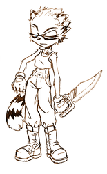 Spicy Sepia Sketch by Satoh