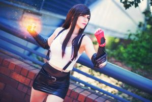 Final Fantasy VII: Tifa Lockhart II by hibiscus-sama