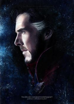 Doctor Strange (Benedict Cumberbatch) | Speed Art by Jeanne-Lui