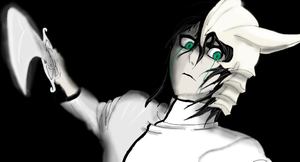 Ulquiorra  eyes of a demon by ShadowClawZ