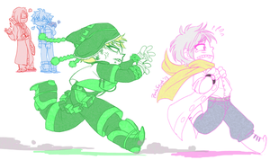 DMMD: Chase by Doctor-Ita