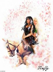 yet another xena drawing by firefly-wp