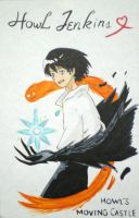 Howl Jenkins by drawwithme15