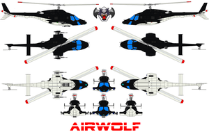 AIRWOLF by bagera3005