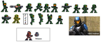 ODST Spartan Sprites by Colonel-Caboose