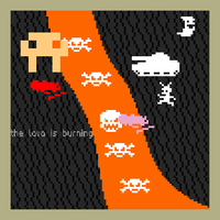 8-bit comics: My 9 Year Old Friend Made This by mechadarkmewtwo