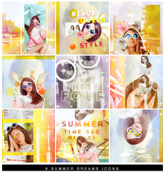 56   Summer Dreams Icons by itsmorphine