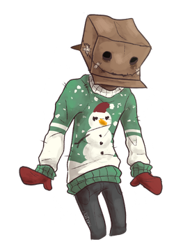 Ugly Christmas Sweater by WeHaveCandy