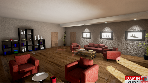 Unreal Engine 4 Amazing Room Concept by DaminDesign