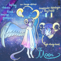 The Moon [OC Ref-Sheet] by UmiMizunone