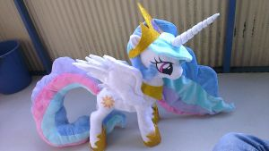Princess celestia 21 inch LARGE plush! by Epicrainbowcrafts