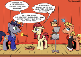 Contractually Obligated Performance by Pony-Berserker