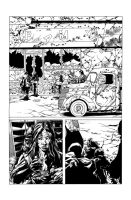 Sanctus Page 27 Pencils/Inks by ARTTHAM