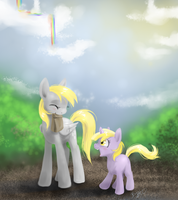 MLP FIM - Mom cares by MadCookiefighter