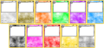 Pokemon Blank Card Templates - Stage 1 by LevelInfinitum