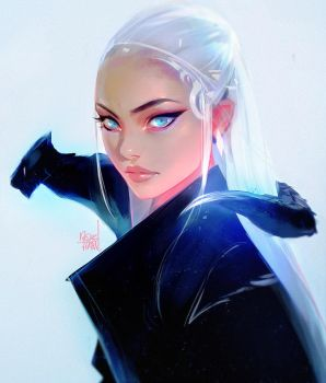 Dae and Drago by rossdraws