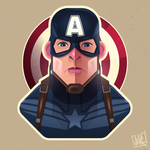 Captain America by JakkeV