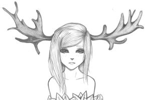Moosegirl by TwilightWatanabe