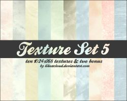 Texture Set 5 - 1024x768 by likeacloud