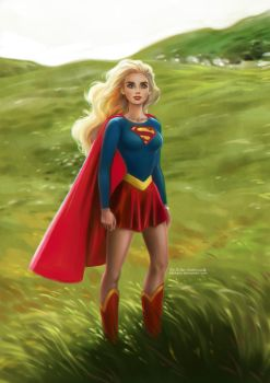 Supergirl by daekazu