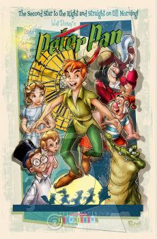 Peter Pan by jonpinto