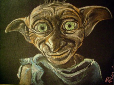 Dobby, a Free Elf by shapudl
