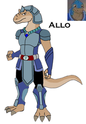 Dinosaucer: Allo 2008 by HewyToonmore