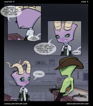 IZ-BTE Fan Comic: Ch4-Pg4 by CGIgal