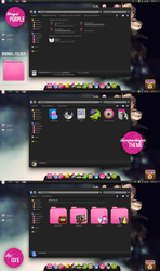 Theme for IconPackager Magic Purple by Isfe