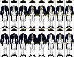 Uniforms of the Royal Navy, 1767-1787 by CdreJohnPaulJones
