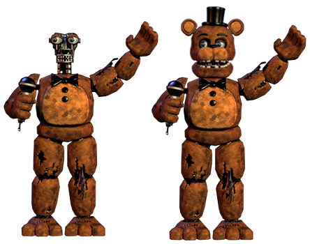 Withered Freddy Full Body New by Frixosisawesome2002