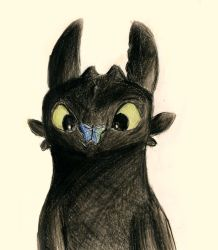 Toothless by RedRoseQueen
