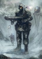 Snow Trooper by TomEdwardsConcepts