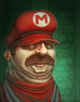 Mario by sacking-jimmy